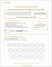 Printable PDF to measure ring size