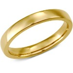 3mm Yellow gold Comfort Fit Wedding Band