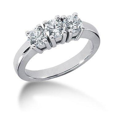 palladium ring med stenar